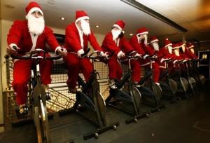 ejercicio durante las fiestas decembrinas